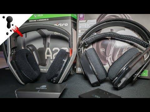 Astro A20 VS Plantronics RIG 800LX Wireless Headset Comparison