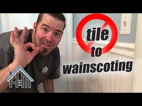 tile-off-the-wall,-install-wainscoting.-easy-bathroom!
