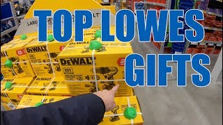 LOWES Tool Gift Section Tour