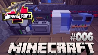 Jurassic World: Minecraft Modded Survival | DNA-Extractor und Combiner!