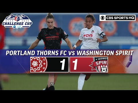 2020 NWSL Highlights: Portland Thorns FC vs. Washington Spirit | CBS Sports HQ