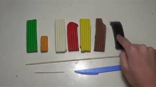 Как слепить бургер / гамбургер из пластилина & Уроки лепки из пластилина