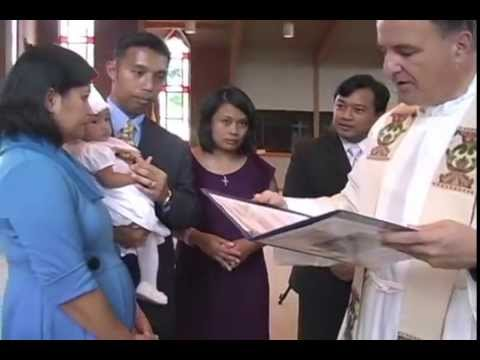 Cara Joelle Ubial Baptism St. Matthews Catholic Church