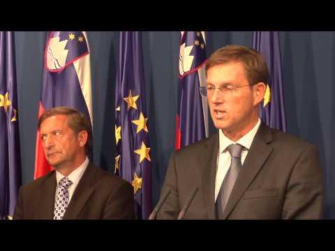 22.10.2014 Novinarska konferenca vlade republike Slovenije