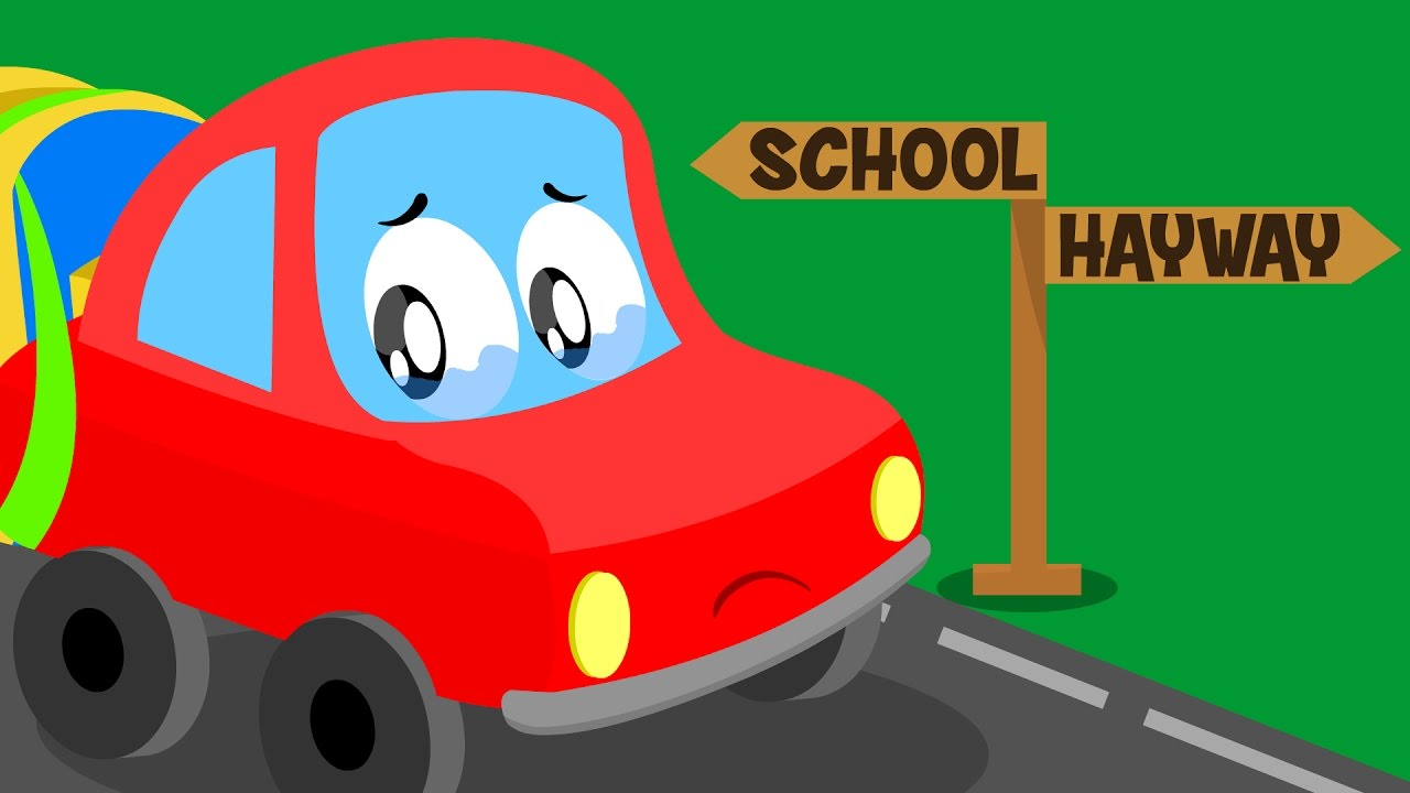 Little Red Car >> Little Red Car Lost Car Original Song For Kids Cartoon About Cars For Kids