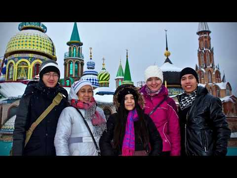KAZAN IN THE SNOW 2017