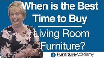 When is the Best Time to Buy Living Room Furniture?