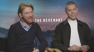 Will Poulter and Domhnall Gleeson on 'The Revenant' and Cinematographer Emmanuel Lubezki