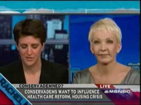 Rachel Maddow Show: Jane Hamsher on the Conserva-dems