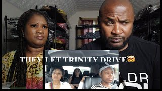 THEY LET TRINITY DRIVE THE CAR WITHOUT TELLING US