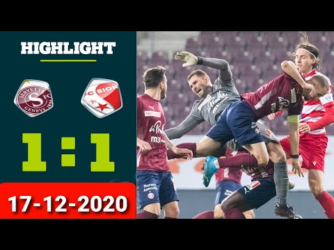 Servette Sion Goals And Highlights