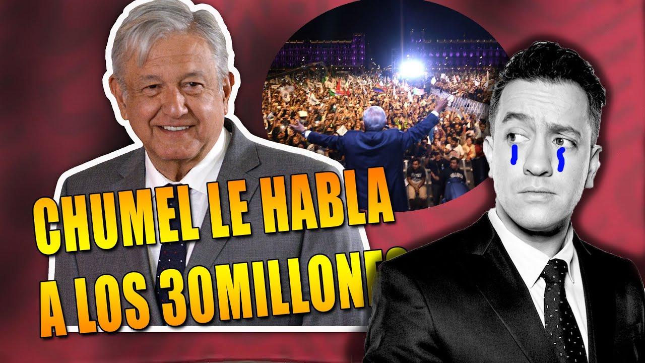 ¡ESTO ACABA DE PASAR! CHUMEL PREGUNTA A LOS MILLONES DE MEXICANOS: ¿POR QUÉ ES EL MEJOR PRESIDENTE?