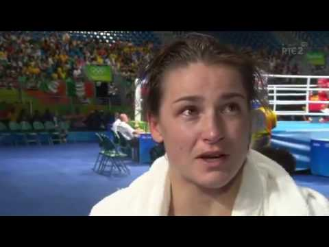 Katie Taylor's Boxing Last 16 Interview Rio Olympics 2016