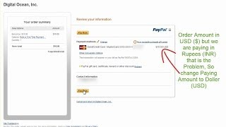 How to pay with PayPal by Debit Card with new RBI Rules 2013