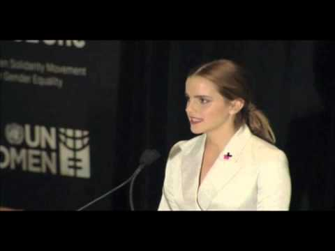 Emma Watson HeForShe Speech at the United Nations | UN Women 2014 - YouTube