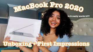 13in'' MacBook Pro 2020 Unboxing + First Impressions!