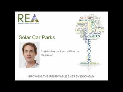 Webinar for solar carparks and carports