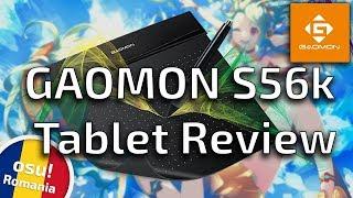[RO dub / ENG sub] Gaomon S56k Graphics Tablet osu! review.