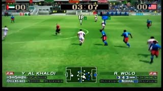 Virtua Striker 3 ver. 2002 Nintendo Gamecube Gameplay