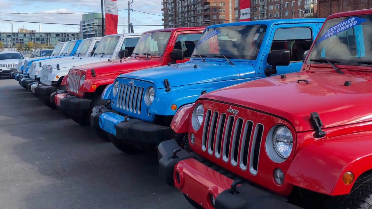 Jeep Wrangler Lease >> 375 Hst Monthly 2018 Jeep Wrangler Lease Deals Youtube