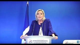 Le pacte de Marrakech : Conférence de presse de Marine Le Pen thumbnail