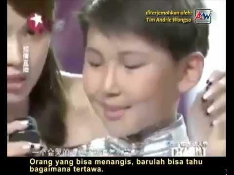 Kisah yang sangat mengharukan dari Uudan - China's Got Talent (bahasa Indonesia by Andrie Wongso)
