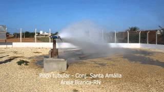 Poço Tubular no Conjunto Santa Amália, em Areia Branca-RN