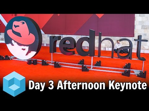Corinne Warnshuis, Randy Meyer & Joseph Sirosh Keynote Address - Red Hat Summit 2016 -
