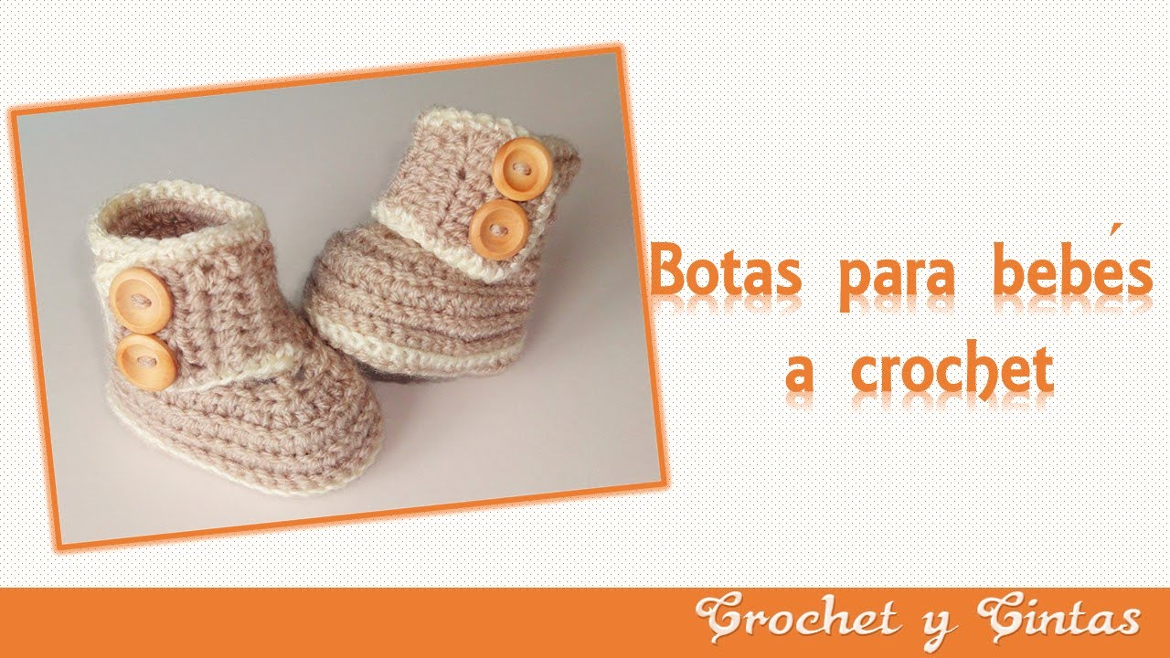 Botas – zapatos crochet para bebés de todas las edades - Parte 1 ...