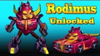 RODIMUS UNLOCKED!!! Angry Birds Transformers (Ep. 2 of 10 miniseries)