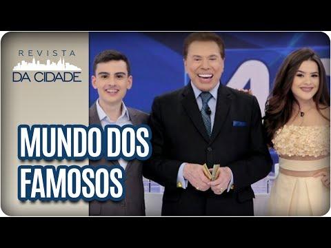 Maisa Silva, Silvio Santos e Dudu Camargo - Revista da Cidade (20/06/2017)