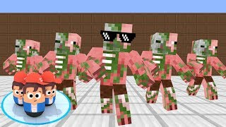 Monster School: POPULAR WARS CHALLENGE - Minecraft Animation