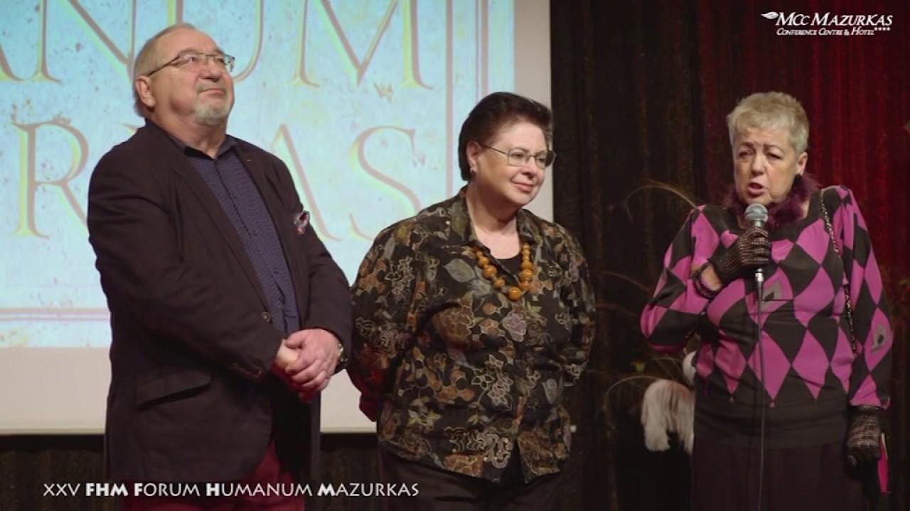 XXV Forum Humanum Mazurkas-rozmowa  Janiny Tuora z artystami-Lili i Wiesławem Fijałkowskimi