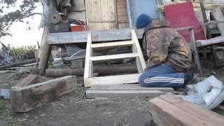 видео Как сделать крыльцо для деревянного дома или дачи?