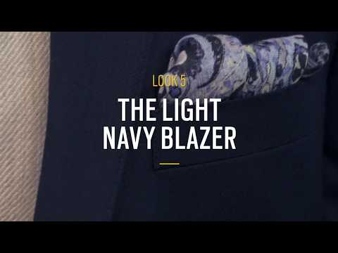 Joseph Abboud' Five Ways to Wear a Navy Blazer