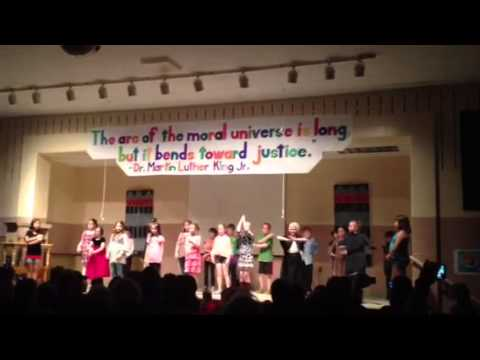 Westhampton Elementary School 3rd and 4th grade play People