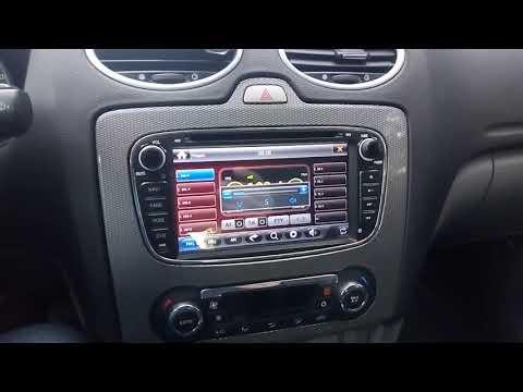 Штатная магнитола Ford Focus 2 рестайлинг Mondeo