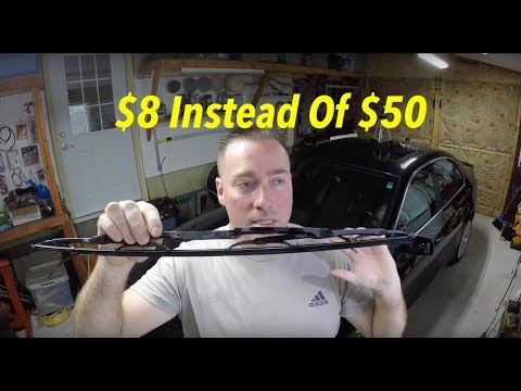 EASY DIY  !!! How To Replace 97-03 BMW E39 5 Series Wiper Blades For $8