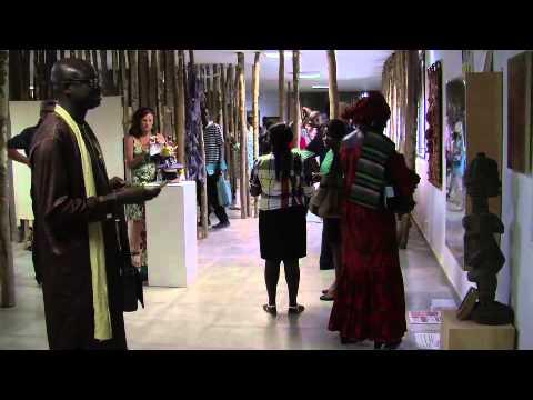 """Exposition """"bois sacré"""" biennale DAK'ART 2014 aux 4 Vents à Dakar"""