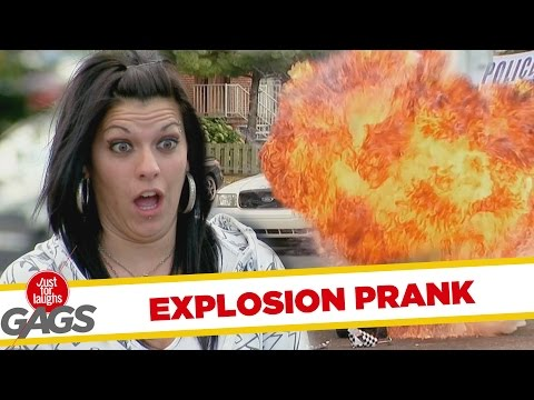 Beware The Car! Hilarious BBQ Explosion Prank