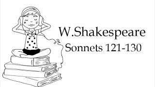 Сонеты Шекспира на английском языке 121 130