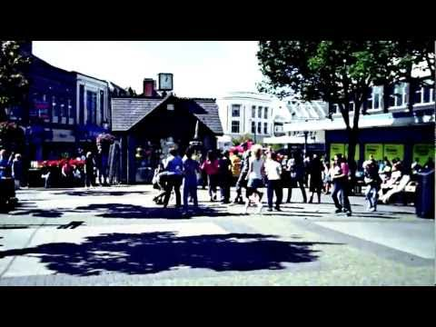 Flash mob in Burnley, summer 2011