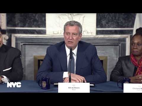 Mayor de Blasio and First Lady McCray Makes Personnel Announcement