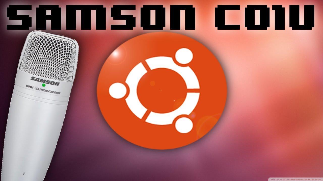 samson c01u usb mic setup in ubuntu youtube. Black Bedroom Furniture Sets. Home Design Ideas