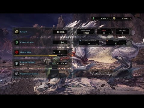 Monster Hunter: World - Kirin (Gold Giant Crown)