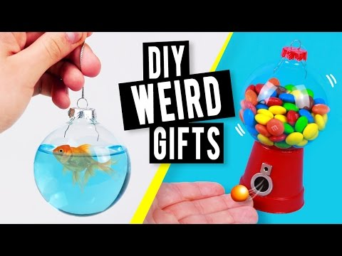 DIY WEIRD Last Minute Christmas Gifts You NEED to try!
