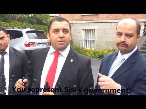 Egyptian Embassy In Dublin Is With The Military Co