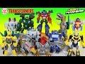 The BEST Transformers Hero Mashers Bumblebee Optimus Prime Jetfire and the Dinobots!
