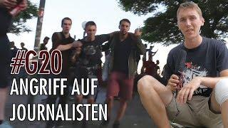 G20 Gipfel: Unser Reporter Max Bachmann wird attackiert.