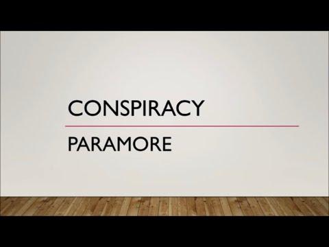 Paramore - Conspiracy (Lyrics)